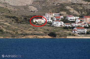 Pag, Pag, Property 6291 - Apartments with pebble beach.