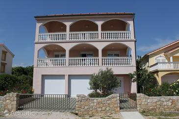 Povljana, Pag, Property 6296 - Apartments with sandy beach.