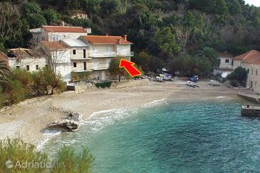 Podobuče, Pelješac, Property 630 - Apartments near sea with pebble beach.