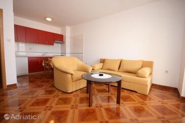 Pag, Гостиная в размещении типа apartment, доступный кондиционер и WiFi.