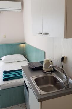 Stara Novalja, Konyha szállásegység típusa studio-apartment, WiFi .