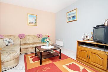 Vir, Living room in the house.