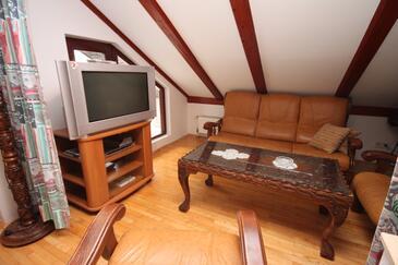 Zadar - Diklo, Pokój dzienny w zakwaterowaniu typu apartment.