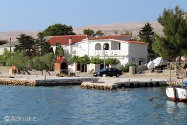 Kustići, Pag, Objekt 6335 - Ubytování v blízkosti moře.