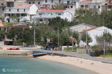 Metajna, Pag, Объект 6336 - Апартаменты вблизи моря с песчаным пляжем.