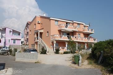 Novalja, Pag, Property 6345 - Apartments with pebble beach.