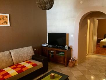 Metajna, Гостиная в размещении типа apartment, доступный кондиционер, Домашние животные допускаются и WiFi.