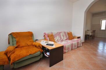 Metajna, Living room in the apartment, WIFI.