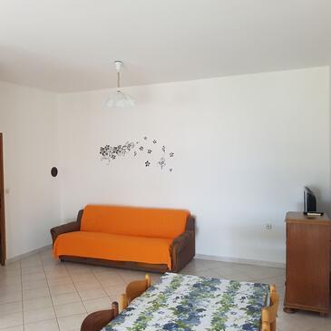 Kustići, Гостиная в размещении типа apartment, Домашние животные допускаются и WiFi.