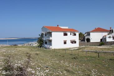 Kustići, Pag, Property 6353 - Apartments near sea with pebble beach.