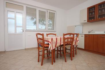 Kustići, Dining room in the apartment, WIFI.