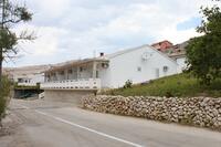 Apartmány a pokoje s parkovištěm  Zubovići (Pag) - 6357