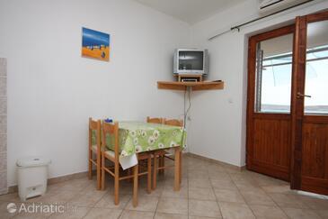 Vidalići, Jídelna v ubytování typu apartment, s klimatizací a WiFi.