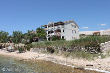 Vidalići, Pag, Объект 6359 - Апартаменты вблизи моря с галечным пляжем.