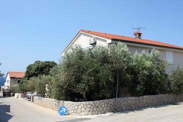 Mandre, Pag, Objekt 6373 - Ubytování v blízkosti moře s oblázkovou pláží.