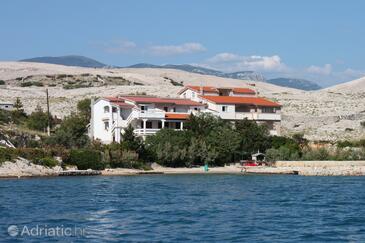 Kustići, Pag, Объект 6376 - Апартаменты вблизи моря с песчаным пляжем.