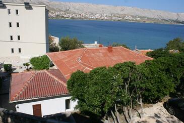 Pag, Pag, Objekt 6381 - Ubytování v blízkosti moře s oblázkovou pláží.