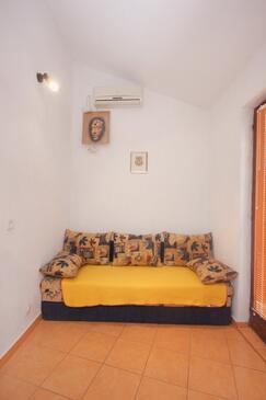 Pag, Obývací pokoj v ubytování typu apartment, klimatizácia k dispozícii, domácí mazlíčci povoleni a WiFi.