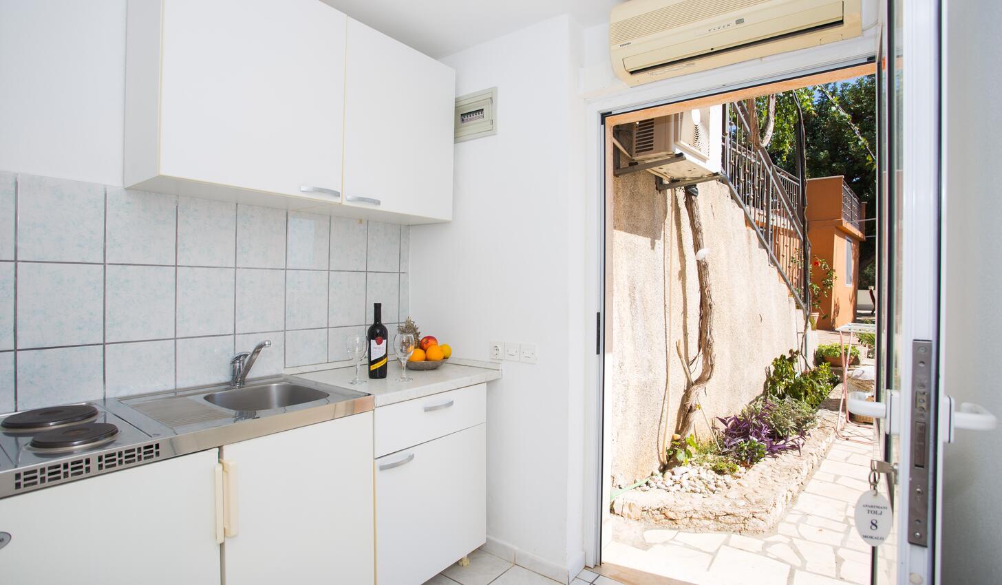 Ferienwohnung Studio Appartment im Ort Mokalo (Peljeaac), Kapazität 2+1 (1012792), Orebić, Insel Peljesac, Dalmatien, Kroatien, Bild 2