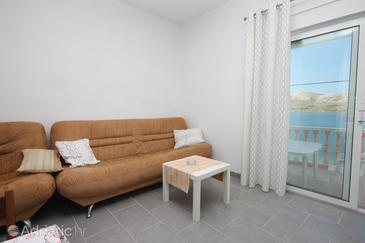 Zubovići, Living room in the apartment, air condition available, (pet friendly) and WiFi.
