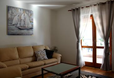 Sukošan, Dnevna soba v nastanitvi vrste apartment, WiFi.