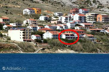 Pag, Pag, Property 6404 - Apartments near sea with sandy beach.