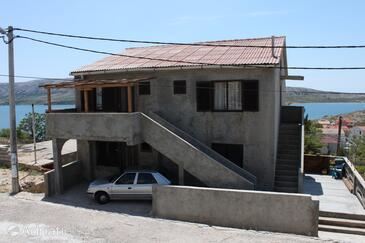 Zubovići, Pag, Объект 6409 - Апартаменты с песчаным пляжем.
