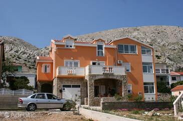 Pag, Pag, Property 6412 - Apartments near sea with pebble beach.