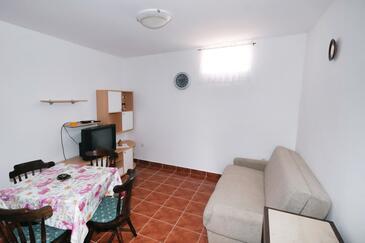 Metajna, Living room in the apartment, dopusteni kucni ljubimci.