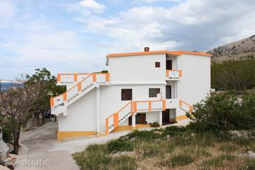 Metajna, Pag, Property 6421 - Apartments with sandy beach.