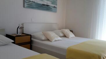 Seline, Ložnice v ubytování typu room, WiFi.
