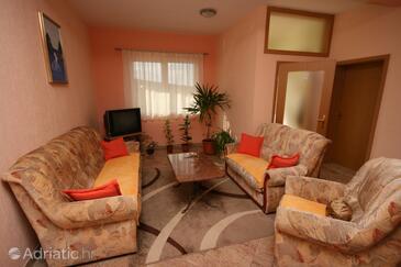 Sveti Petar, Living room in the apartment, WIFI.