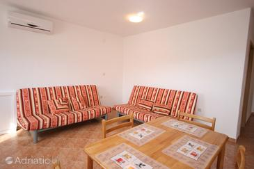Sveti Petar, Living room in the apartment, dostupna klima i WIFI.