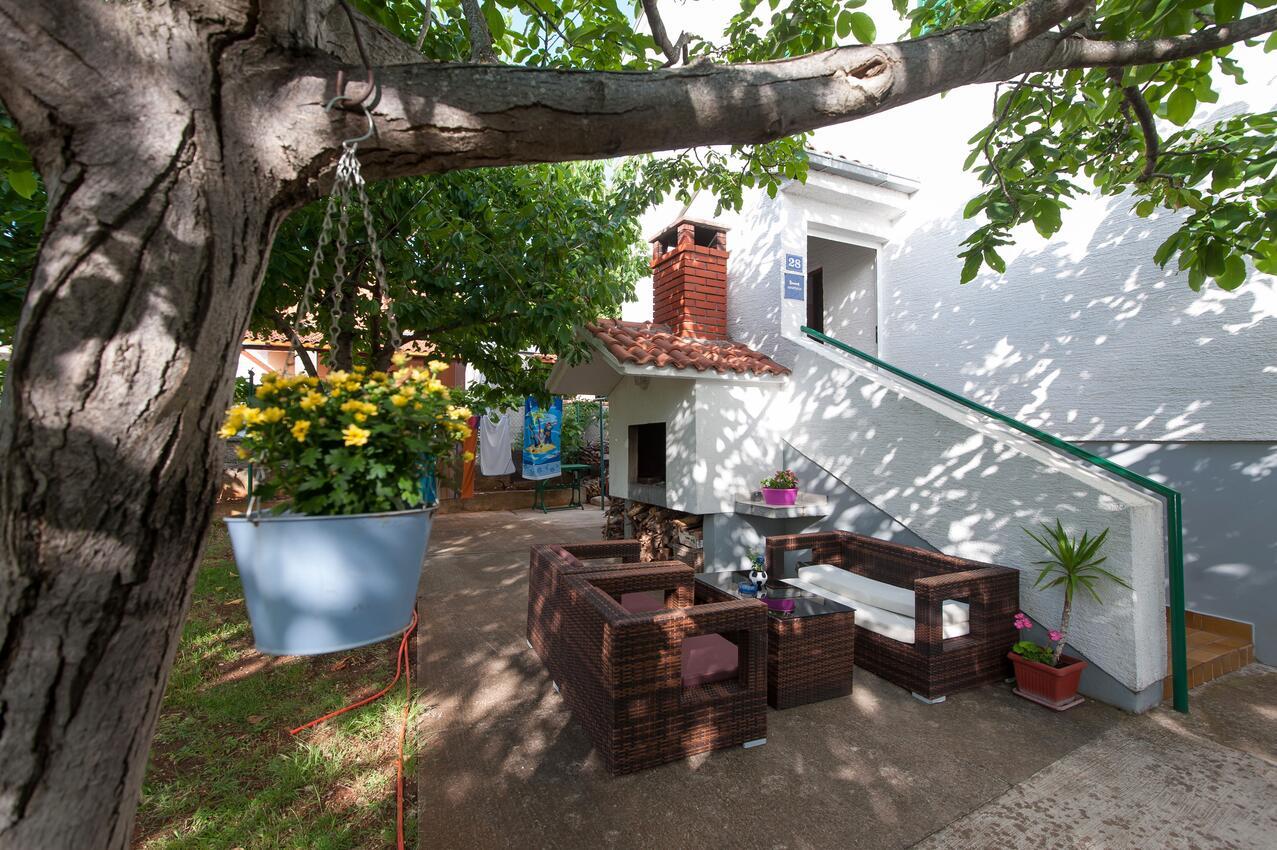 Ferienwohnung im Ort Turanj (Biograd), Kapazität 2+2 (1582648), Turanj, , Dalmatien, Kroatien, Bild 13