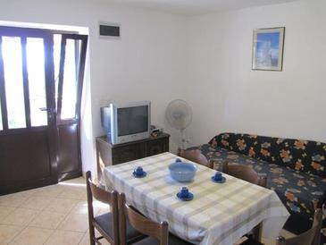 Lun, Dining room in the apartment, dopusteni kucni ljubimci i WIFI.