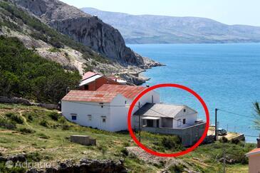 Metajna, Pag, Objekt 6465 - Ubytování v blízkosti moře s písčitou pláží.