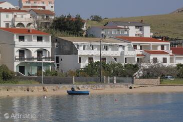 Metajna, Pag, Property 6466 - Apartments near sea with sandy beach.