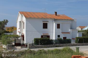 Povljana, Pag, Объект 6468 - Апартаменты с песчаным пляжем.