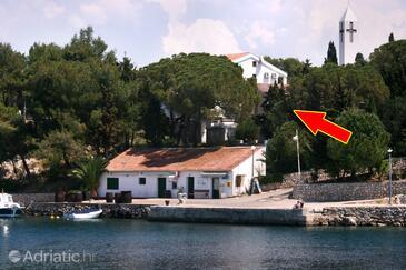 Mandre, Pag, Alloggio 6474 - Appartamenti affitto vicino al mare con la spiaggia ghiaiosa.