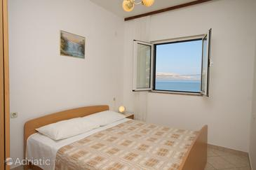 Metajna, Living room in the apartment, dostupna klima i WIFI.
