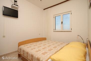 Metajna, Obývací pokoj v ubytování typu apartment, s klimatizací a WiFi.