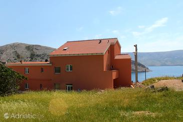 Metajna, Pag, Property 6487 - Rooms near sea with sandy beach.