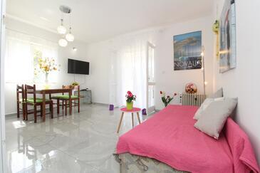 Novalja, Ebédlő szállásegység típusa apartment, háziállat engedélyezve és WiFi .