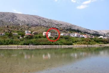 Pag, Pag, Property 6494 - Apartments near sea with pebble beach.