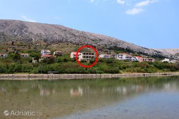 Pag, Pag, Объект 6494 - Апартаменты вблизи моря с галечным пляжем.