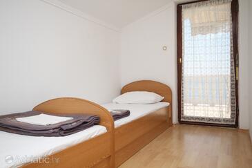 Metajna, Obývací pokoj v ubytování typu apartment, s klimatizací, domácí mazlíčci povoleni a WiFi.