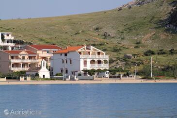 Metajna, Pag, Objekt 6497 - Ubytování v blízkosti moře s písčitou pláží.