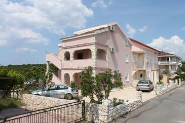 Mandre, Pag, Объект 6507 - Апартаменты вблизи моря с галечным пляжем.