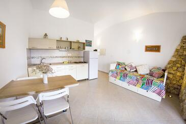 Mandre, Dnevni boravak u smještaju tipa apartment, dostupna klima, kućni ljubimci dozvoljeni i WiFi.