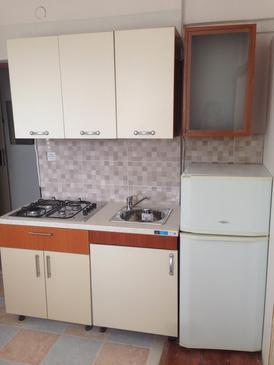 Vidalići, Cocina in the apartment, air condition available, (pet friendly) y WiFi.